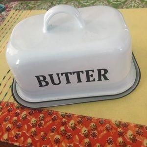 Marshalls - Vintage butter dish